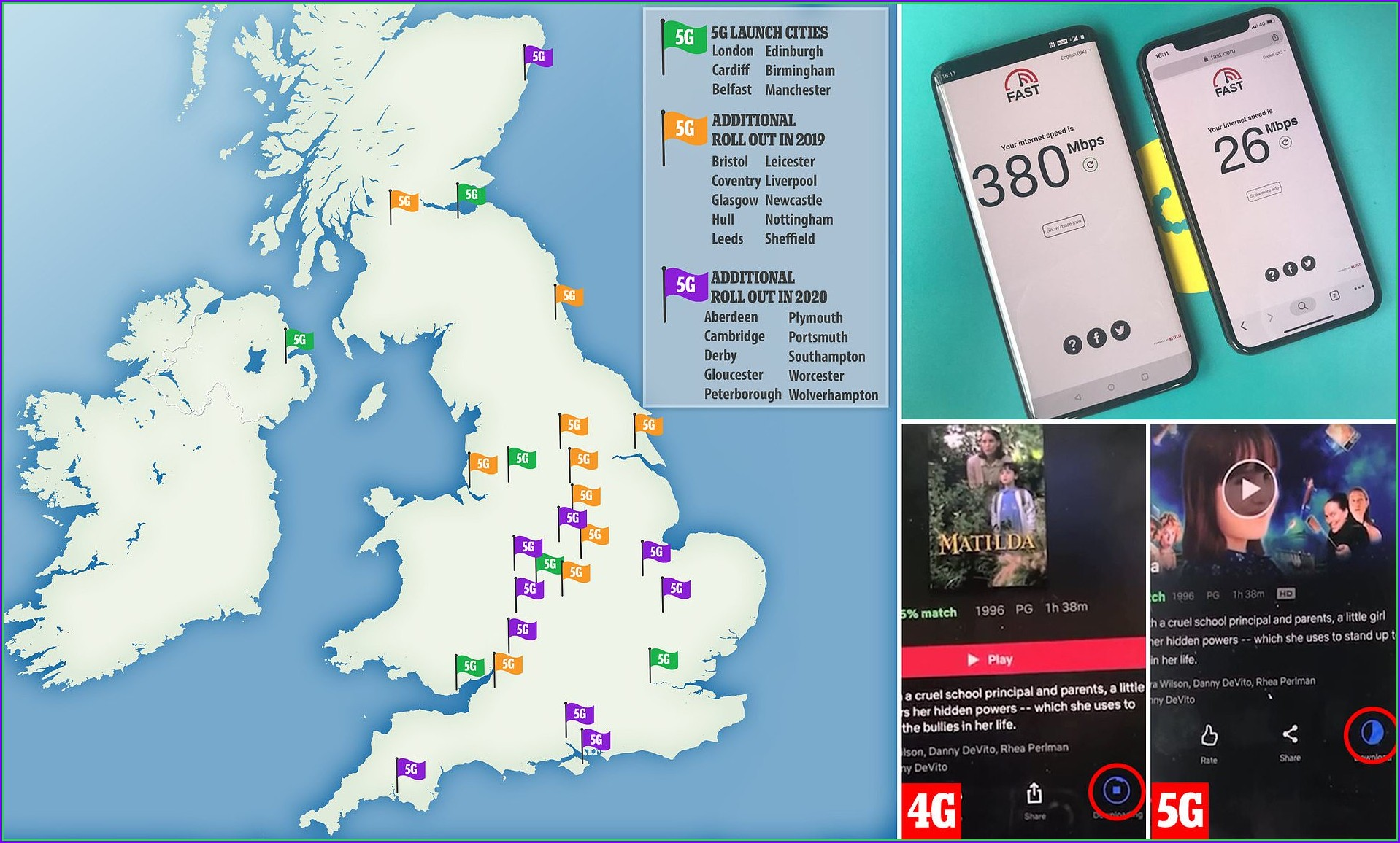 5g Cell Towers Map Uk