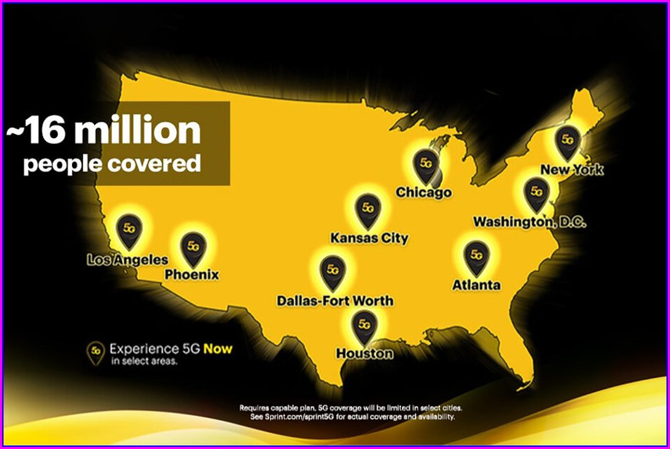 5g Coverage Map Usa 2020
