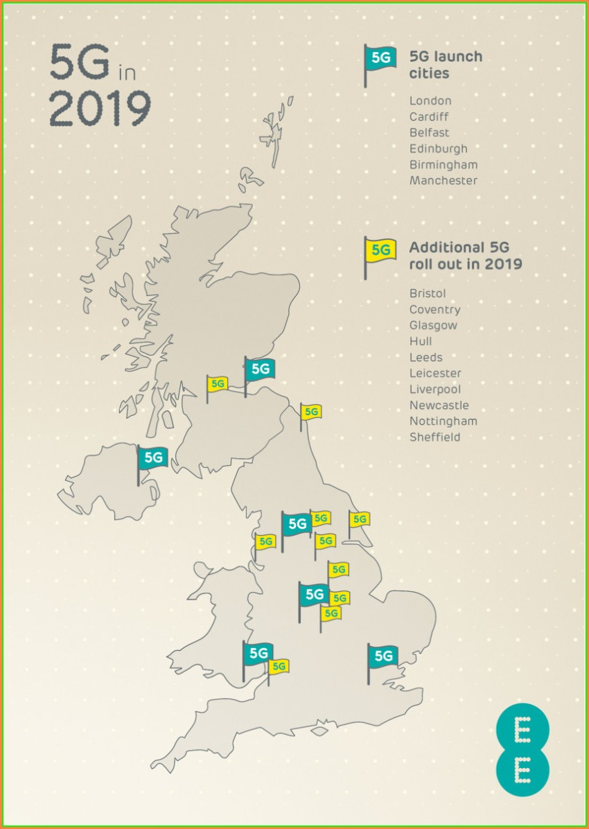 5g Rollout Map Uk