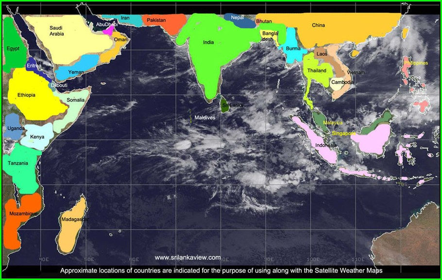 Accurate Weather Satellite Map
