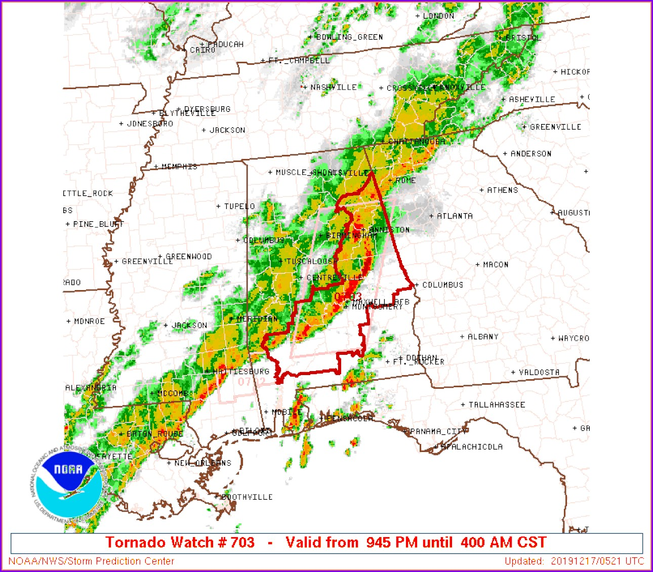Alabama Weather Radar Map