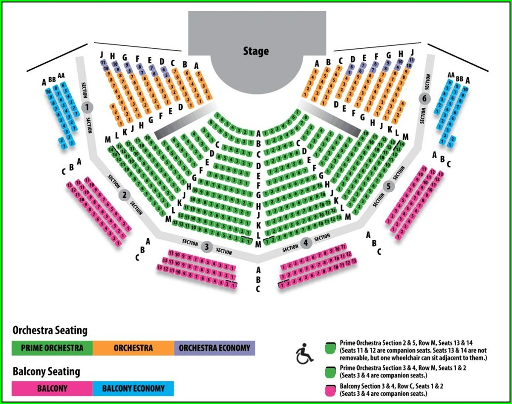 Alliant Energy Center Seating Map