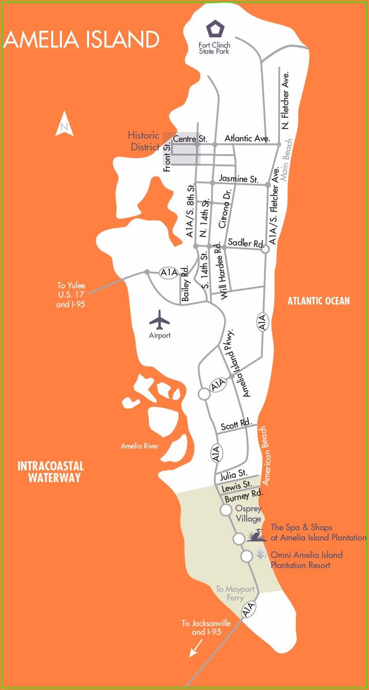 Amelia Island Plantation Map