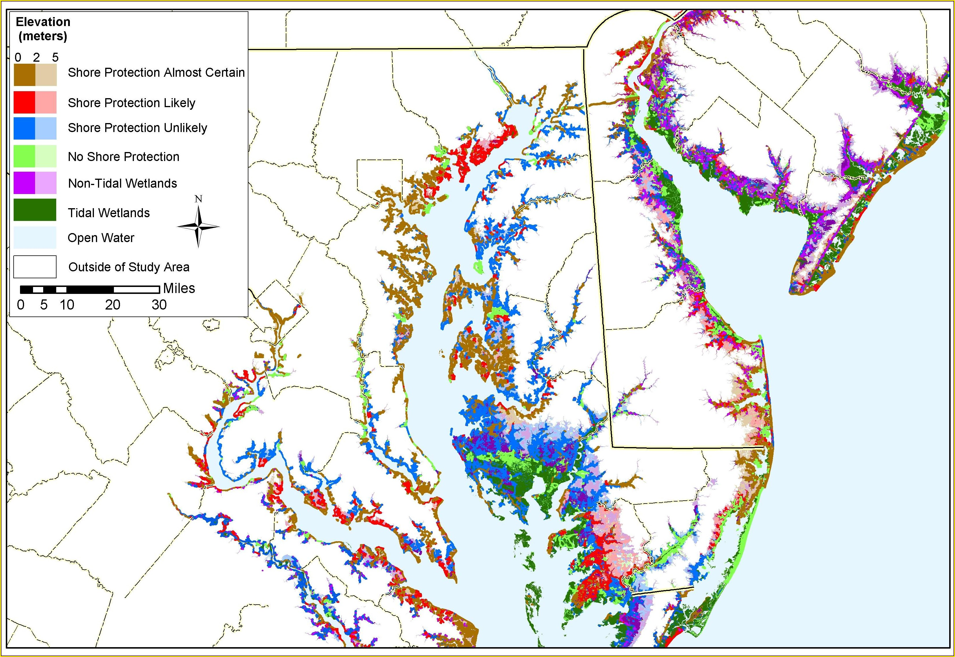 Anne Arundel Flood Zone Map