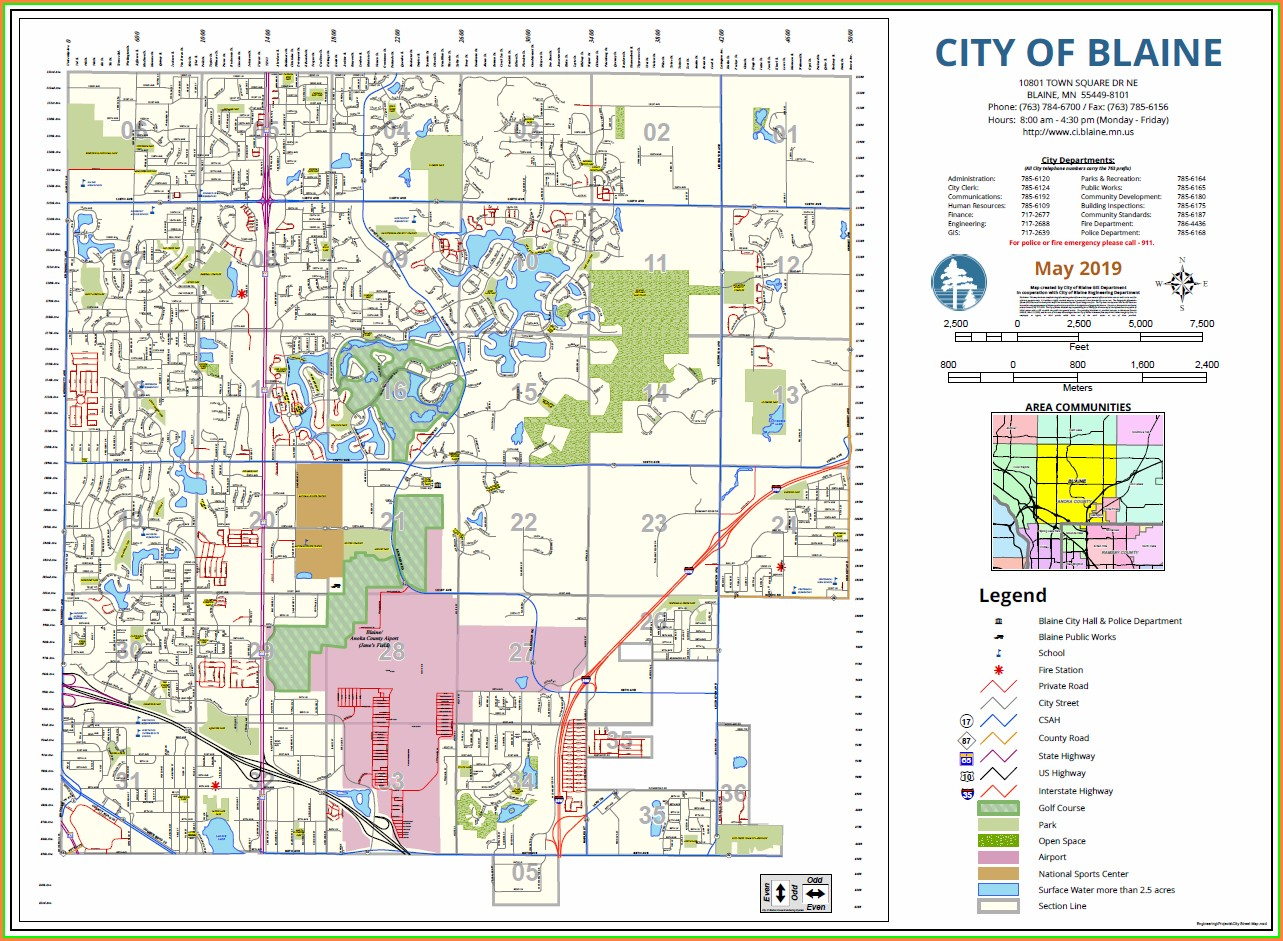 Anoka County Gis Map