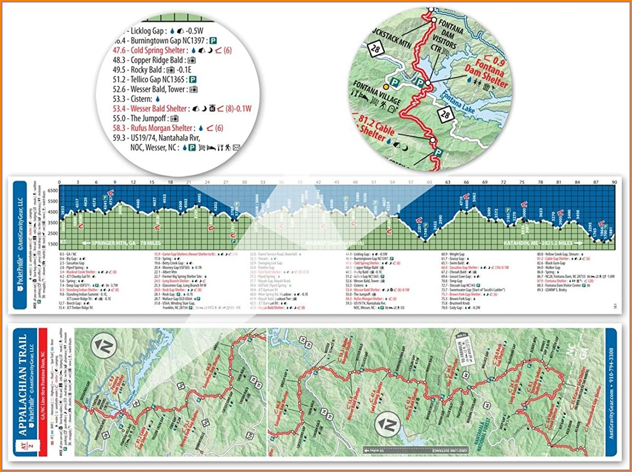 Appalachian Trail Harpers Ferry Map