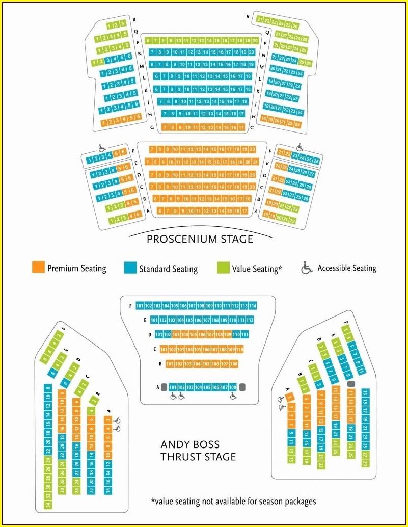 Aragon Ballroom Seating Map