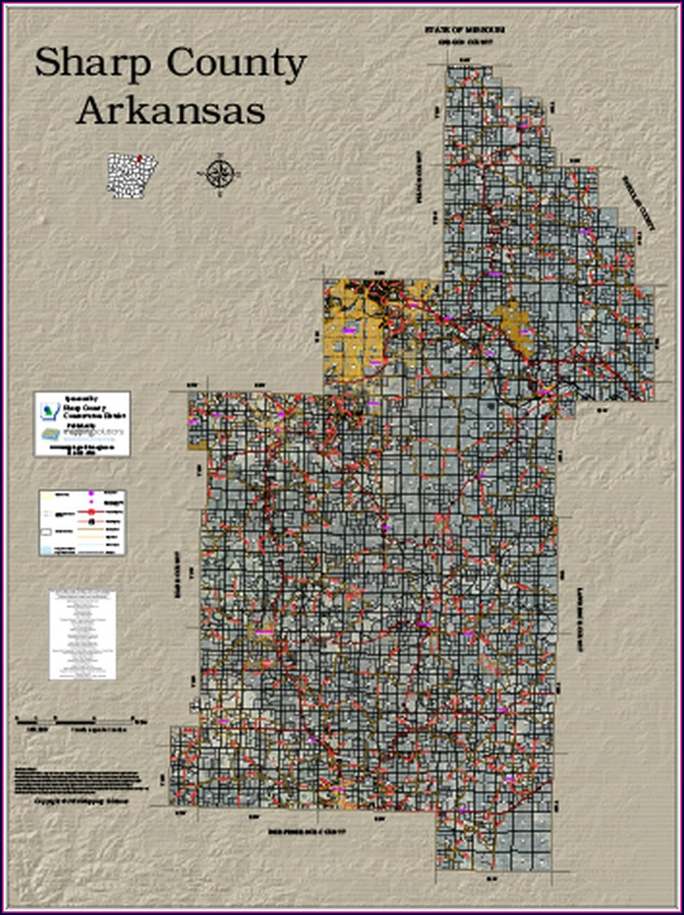 Arkansas Plat Maps By County