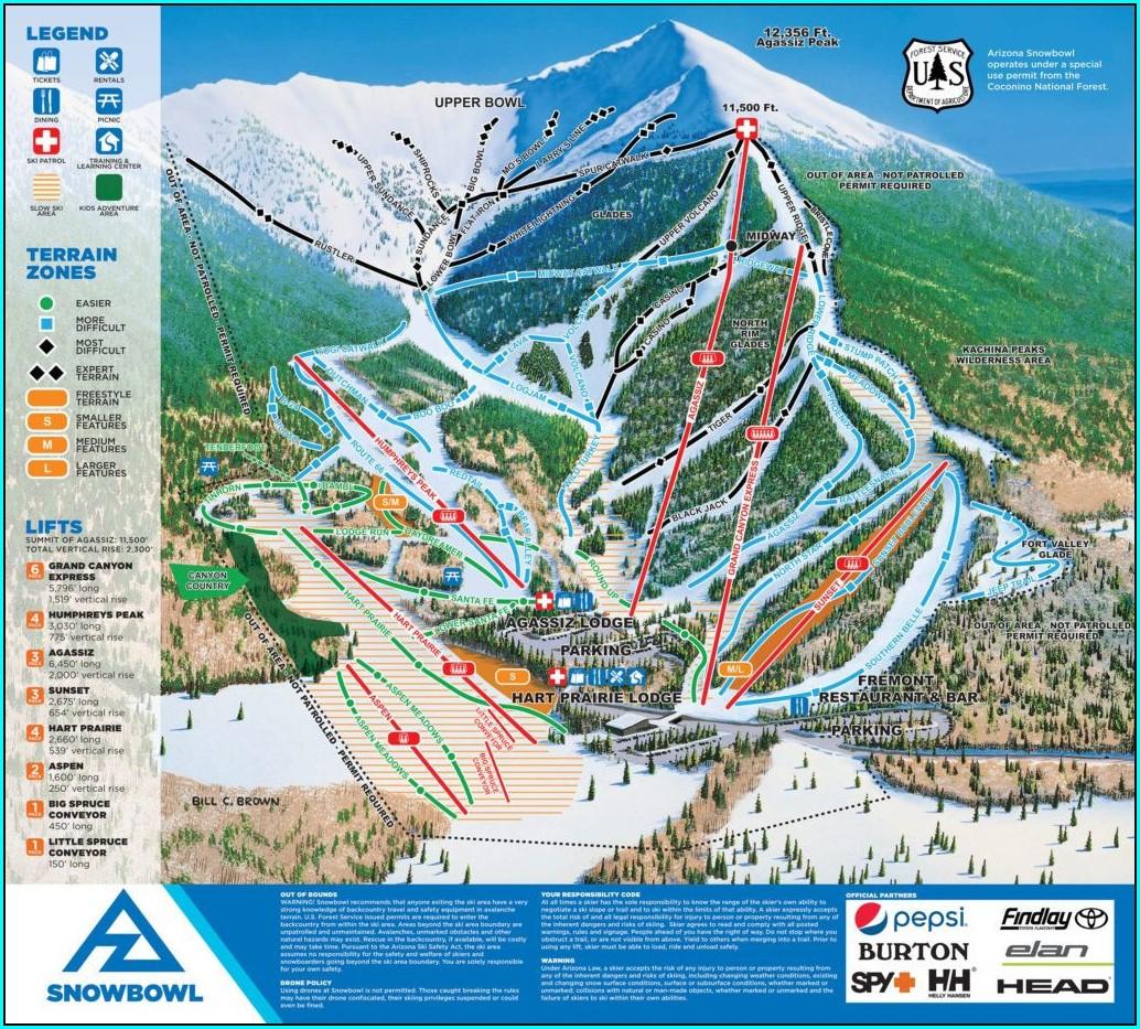 Aspen Meadows Resort Map