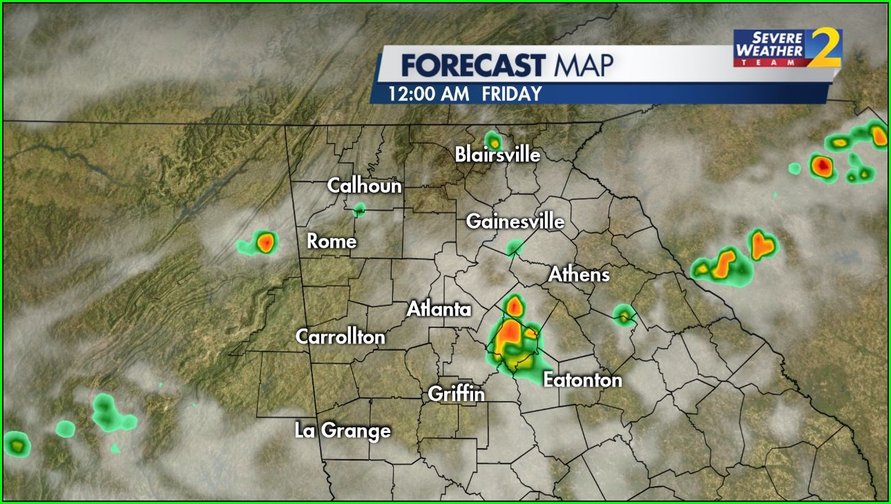 Atlanta Weather Radar Map