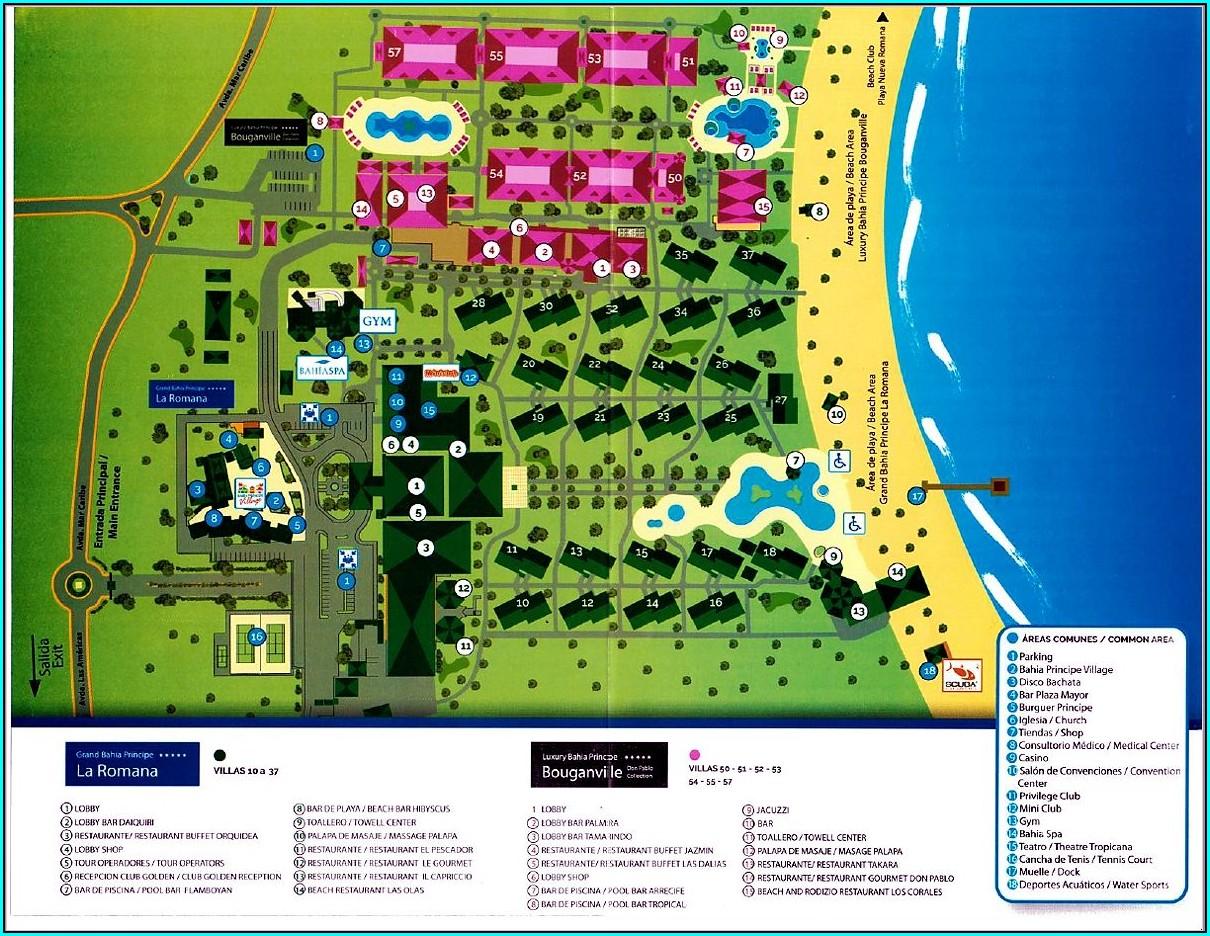 Bahia Principe La Romana Map