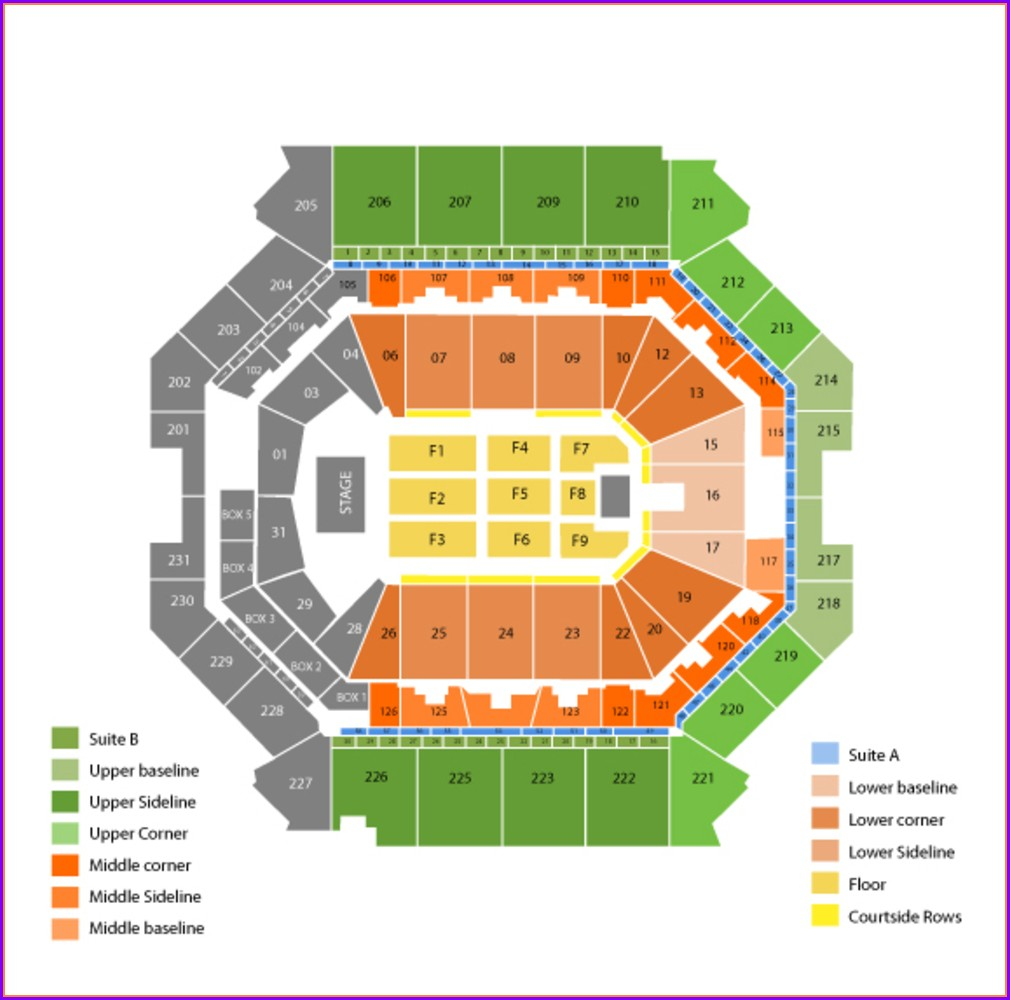 Barclays Seat Map Concert