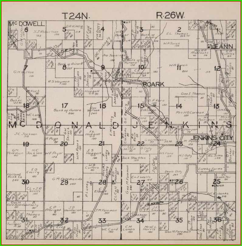 Barry County Plat Map