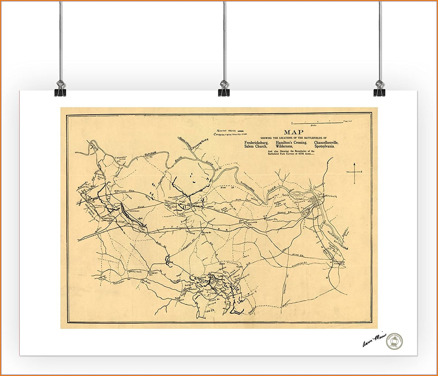 Battle Of Spotsylvania Court House Map