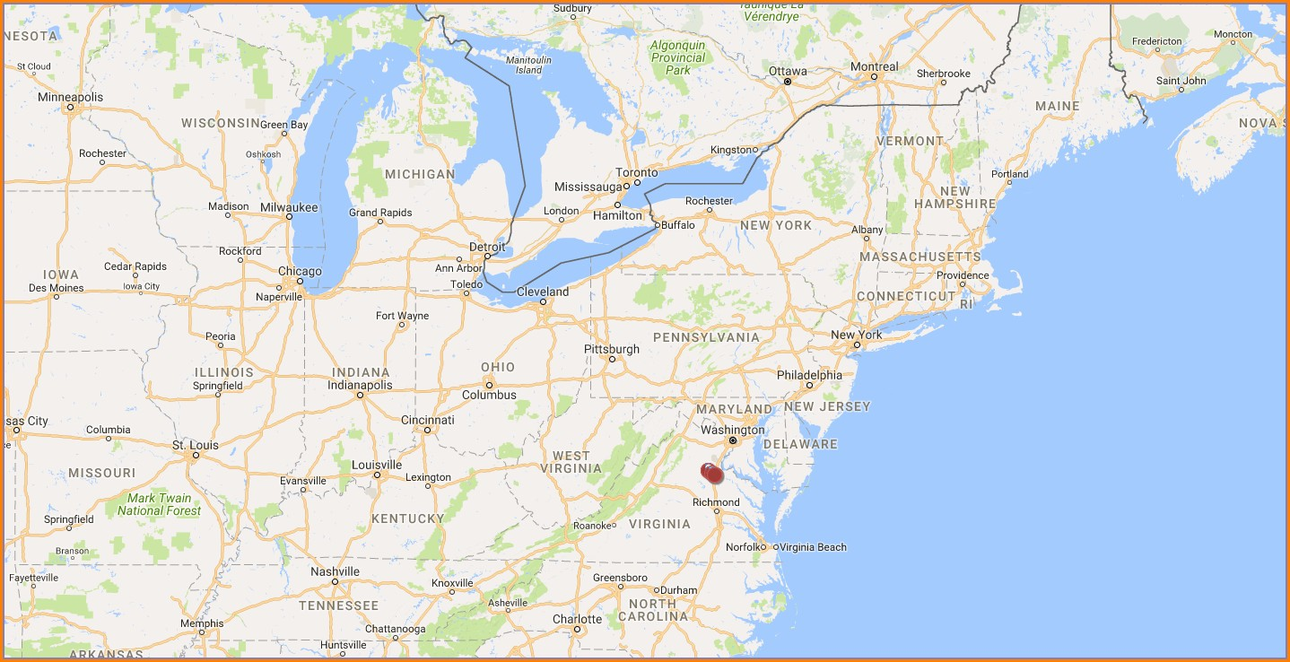 Battle Of Spotsylvania Map