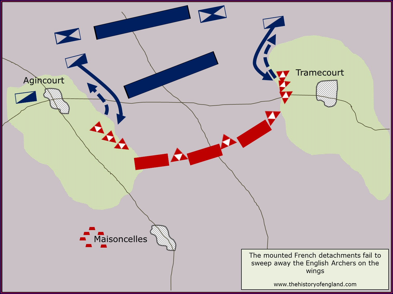 Battlefield Battle Of Agincourt Map