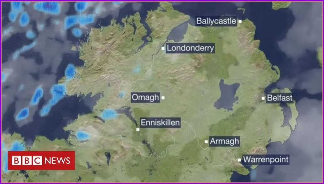 Bbc Weather Map Uk Today
