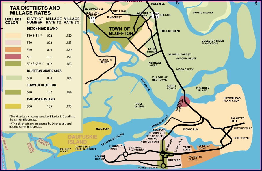 Beaufort County Tax Maps