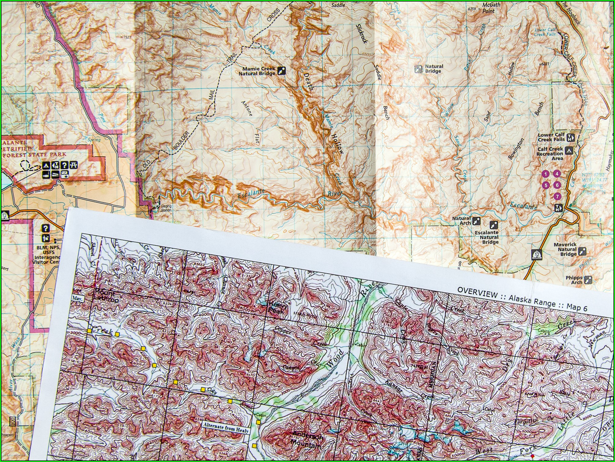 Best Topo Maps For Hiking