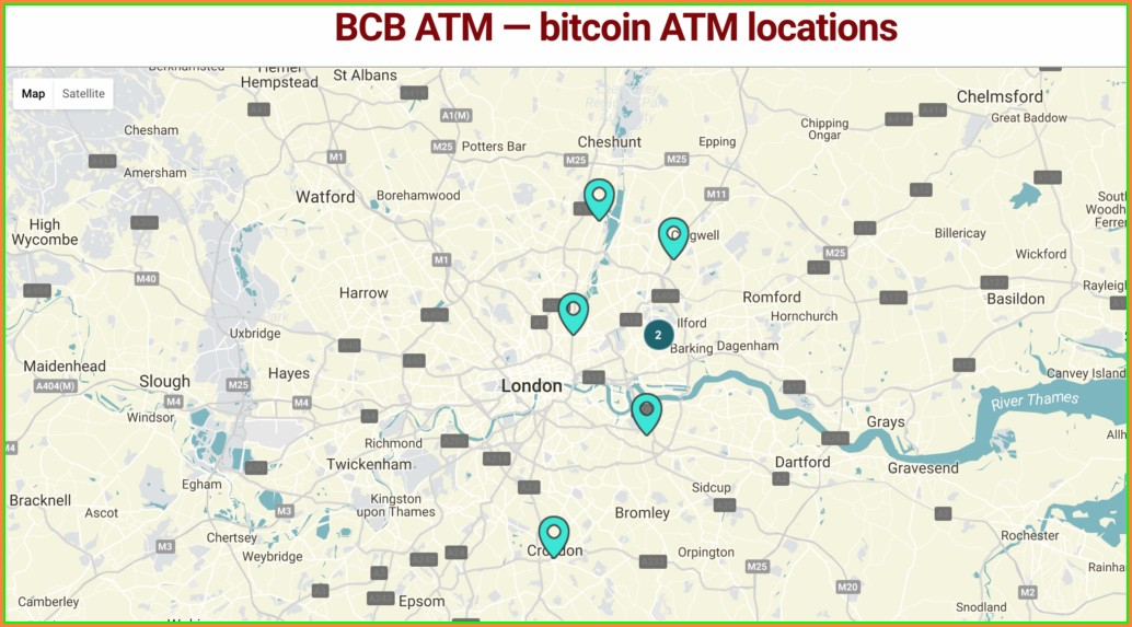 Bitcoin Atm Map London