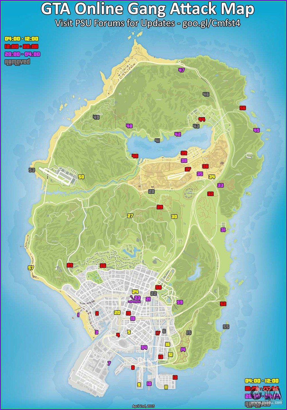 Blaine County Gta 5 Map With Street Names