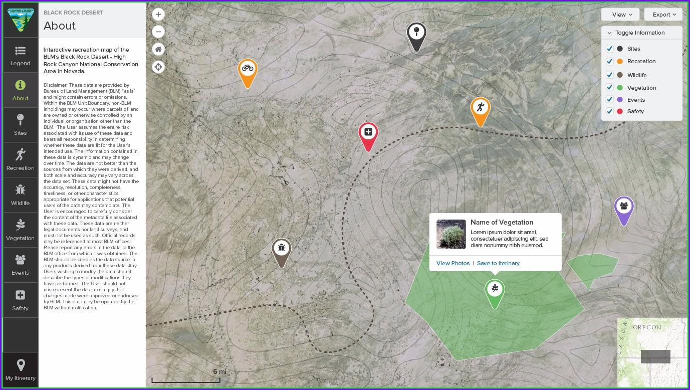 Blm Interactive Map Nevada