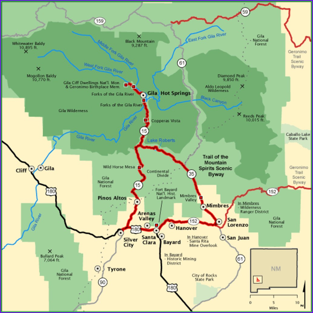 Blm Interactive Map New Mexico