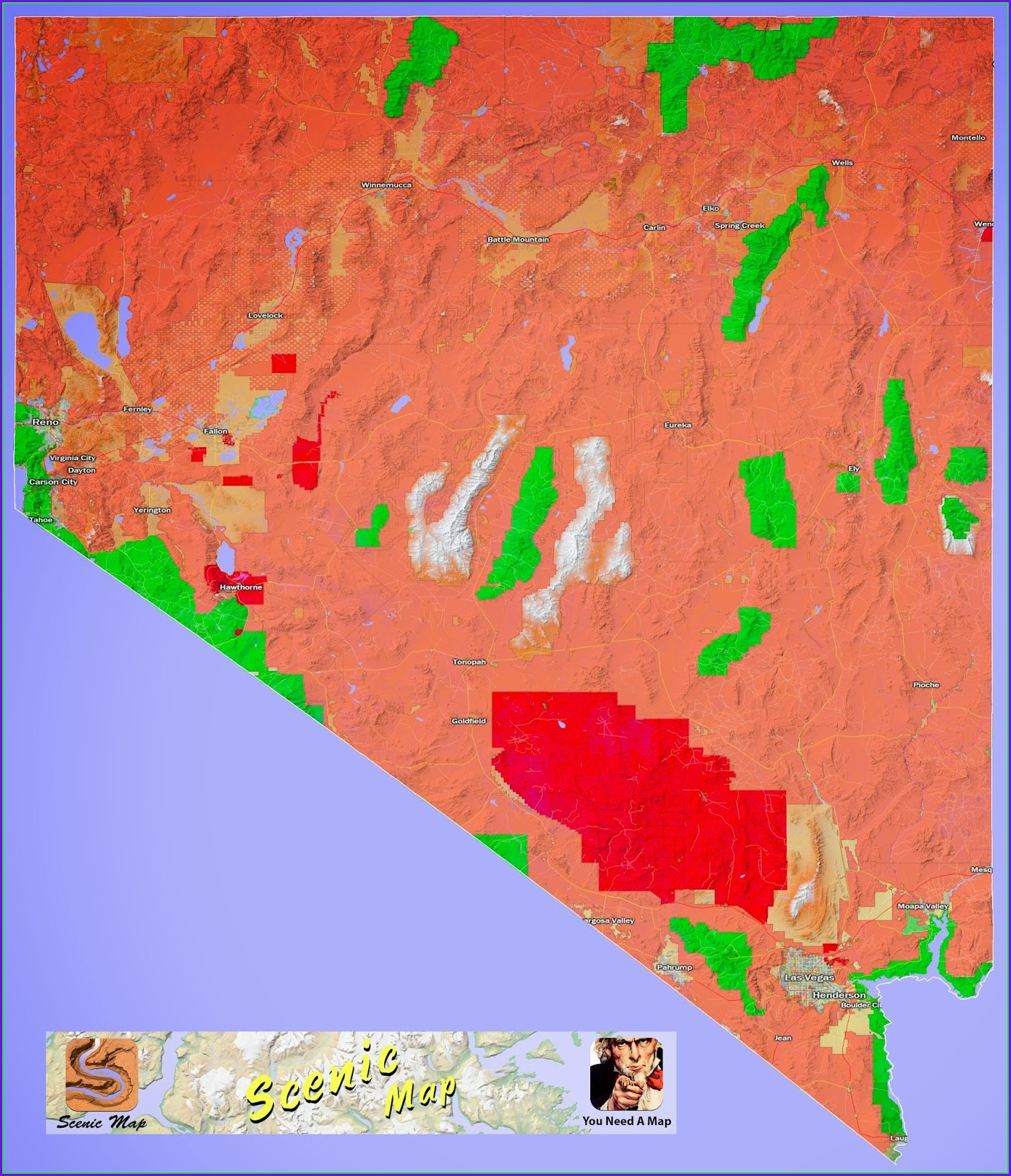 Blm Land Map Nevada