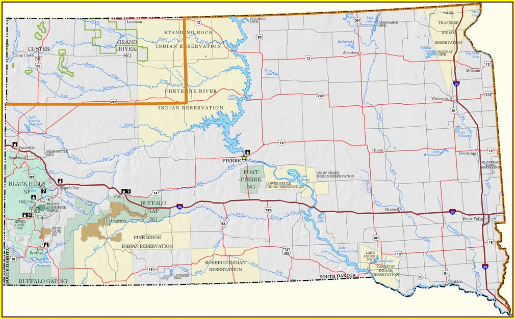 Blm Land Map South Dakota