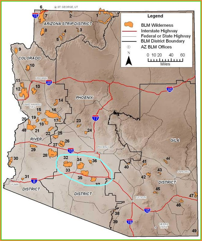 Blm Shooting Maps Az