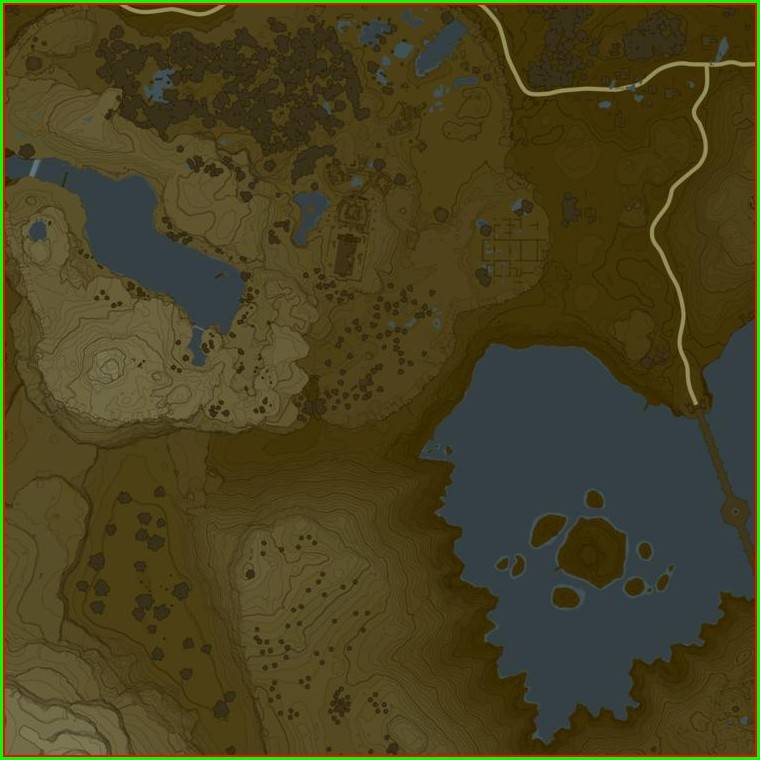 Botw All Lynel Locations Map