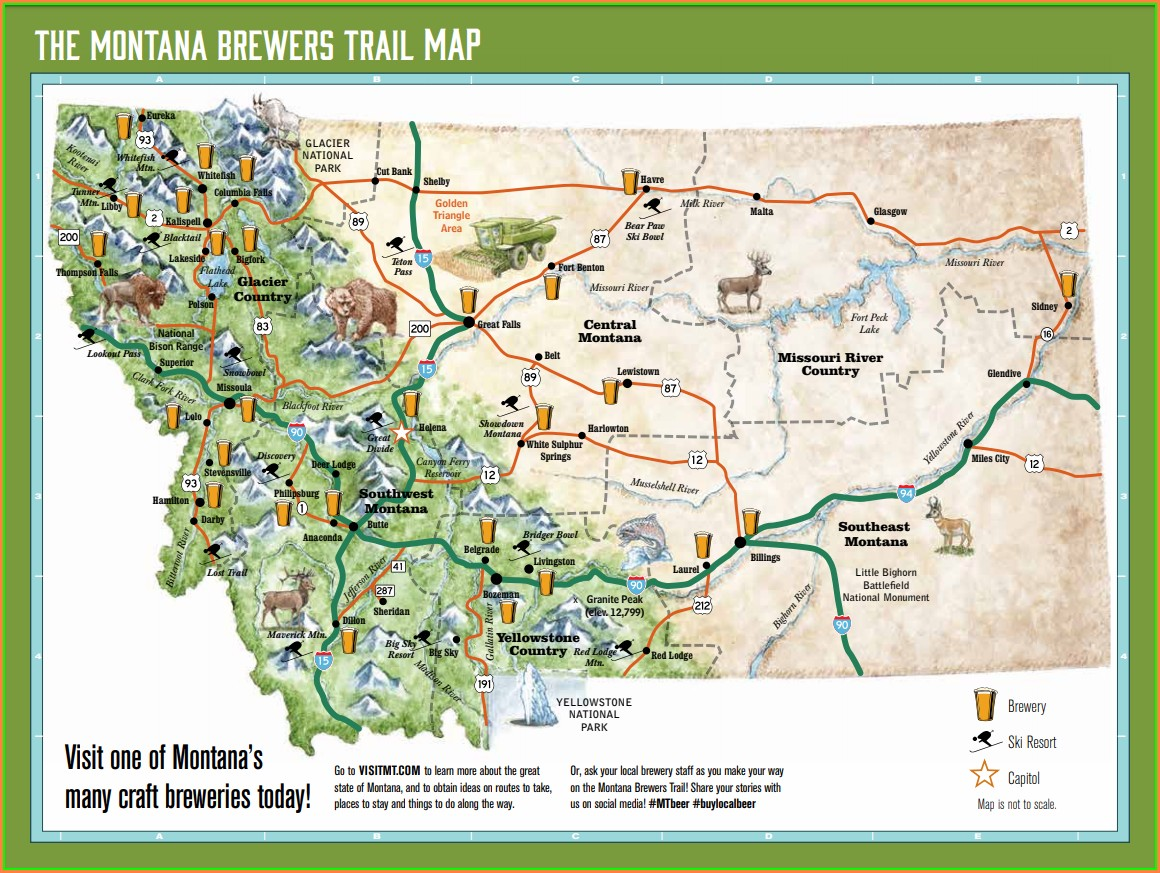 Bozeman Trail Map Pdf
