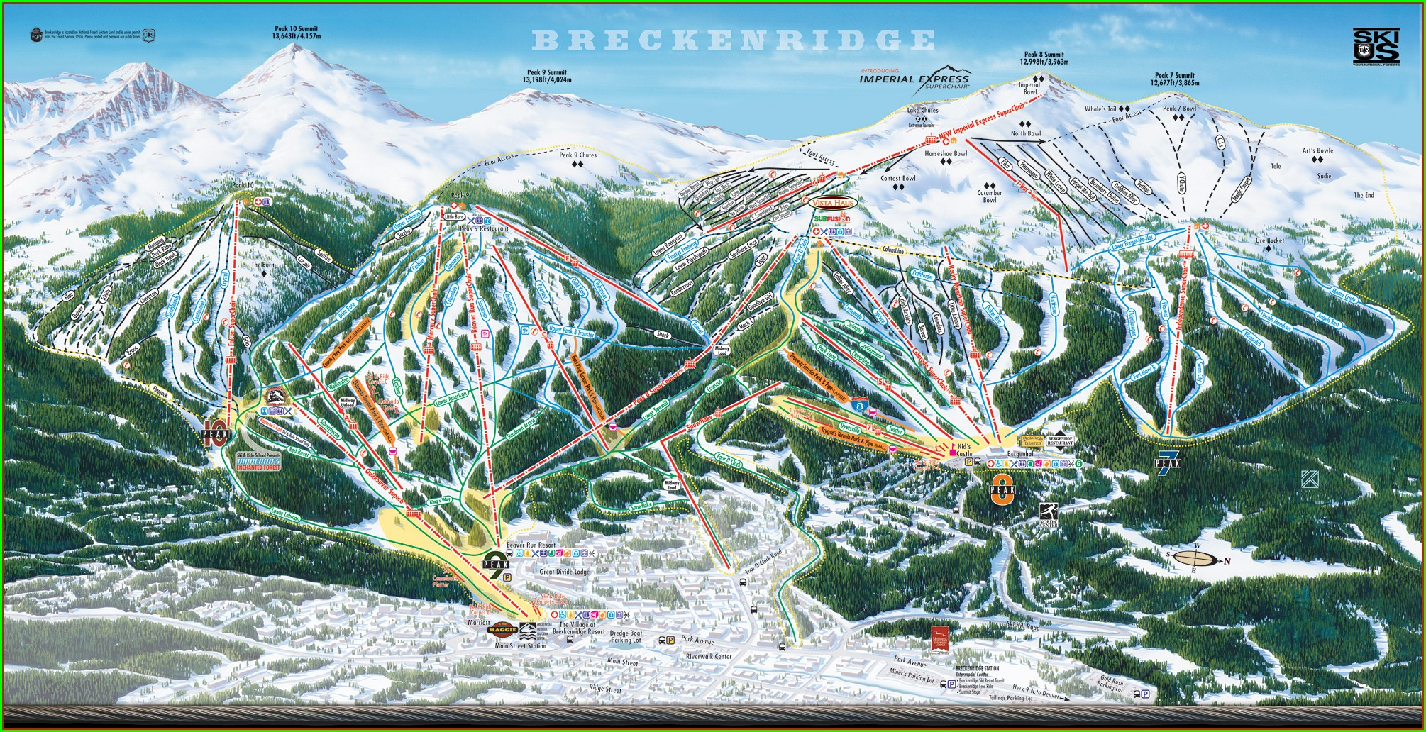 Breckenridge Hiking Trail Map Pdf