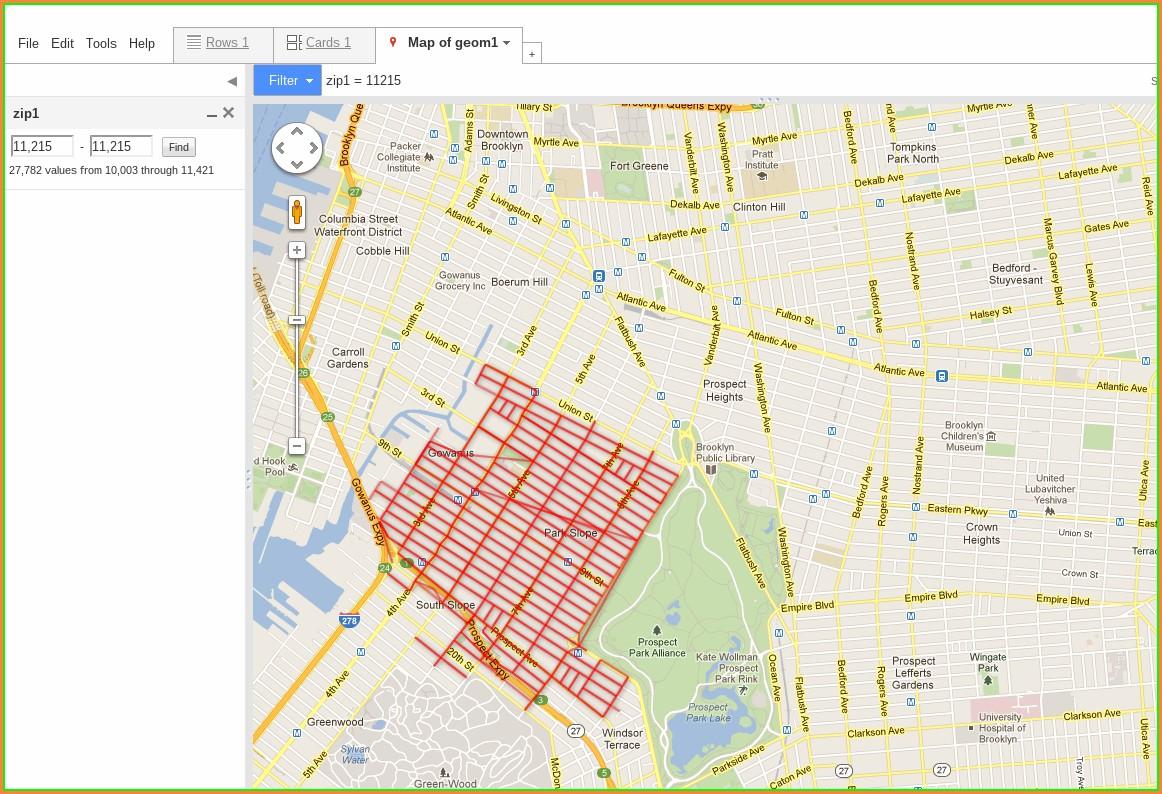 Brooklyn Alternate Side Parking Map