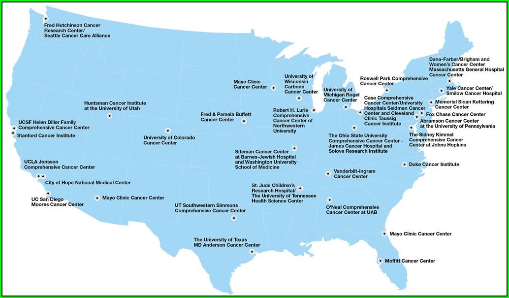 Buffett Cancer Center Map
