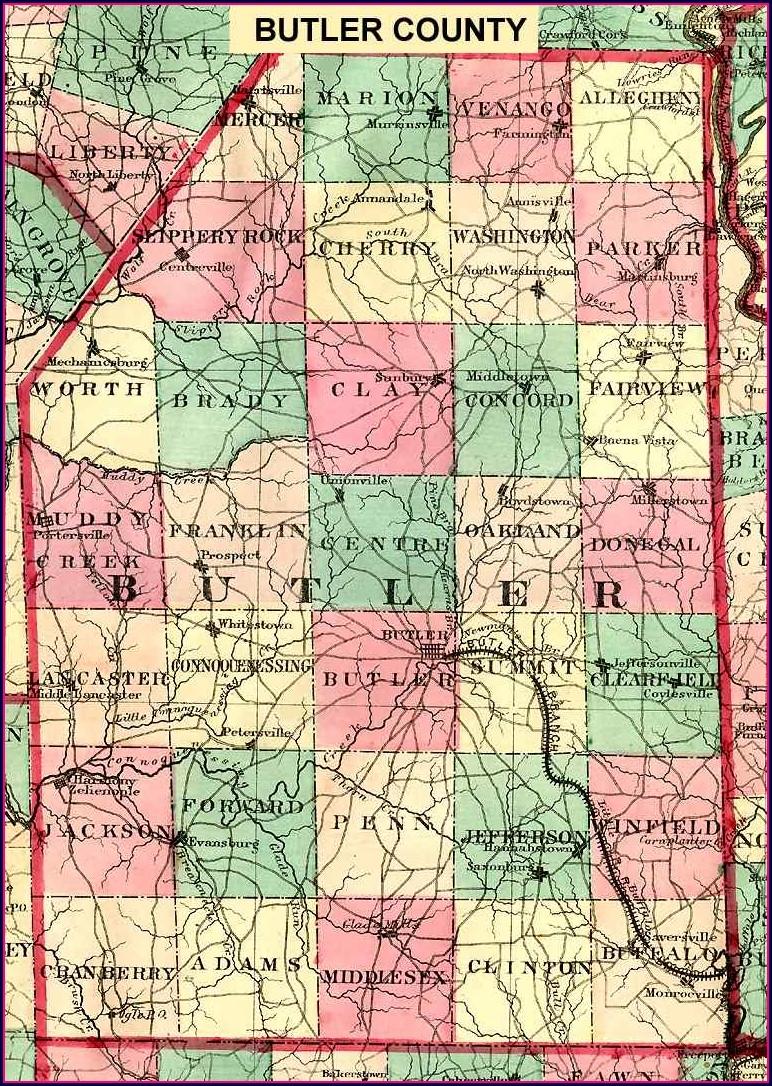 Butler County Pa Gis Maps