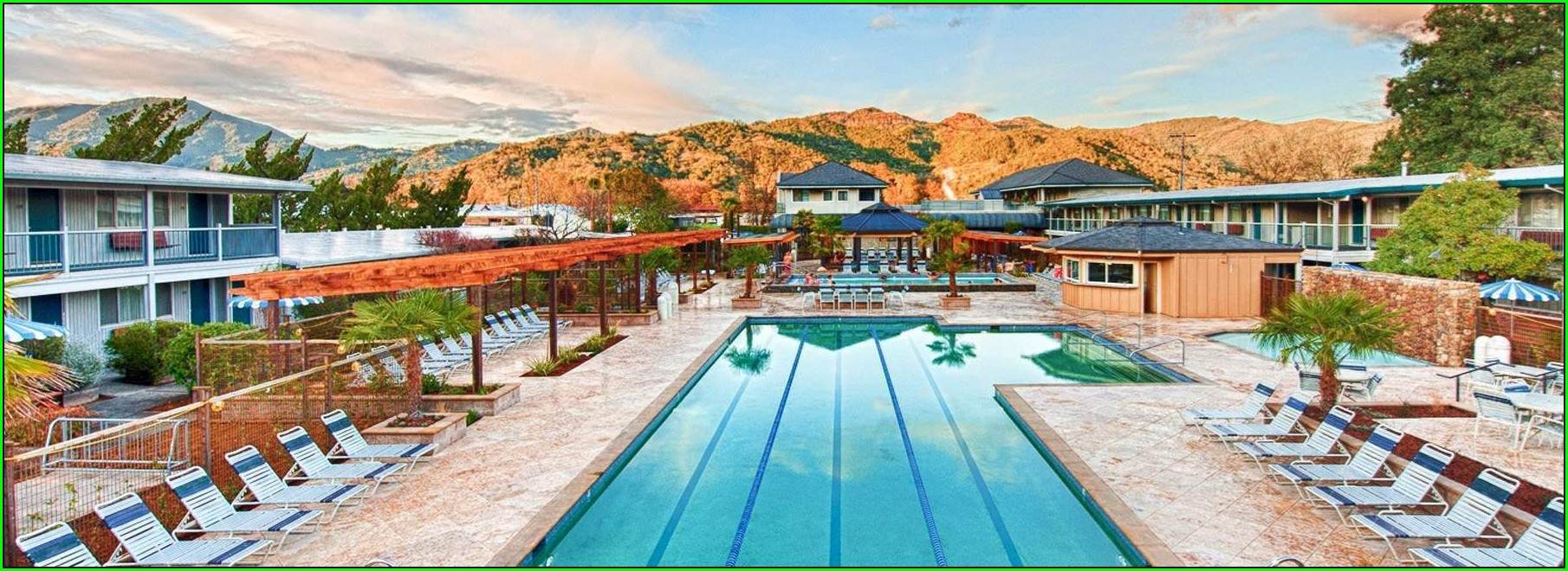 Calistoga Spa Hot Springs Room Map