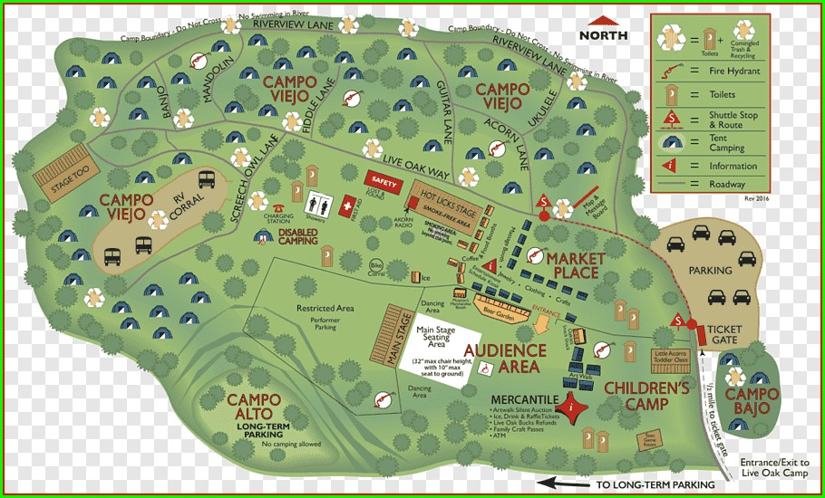Campground Cachuma Lake Camping Map