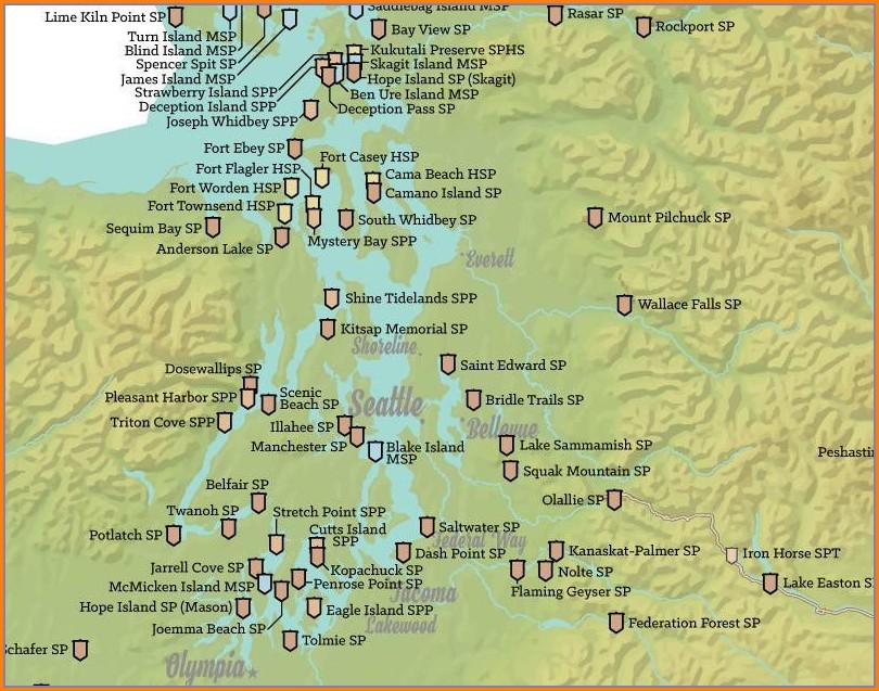 Camping Utah State Parks Map