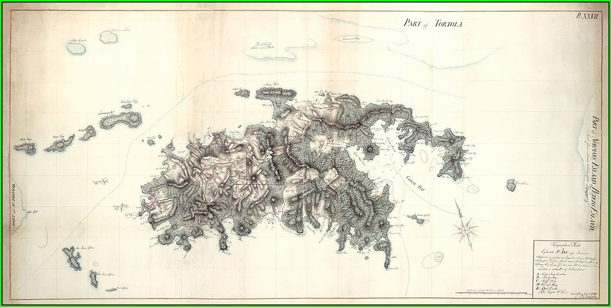 Caneel Bay St John Map