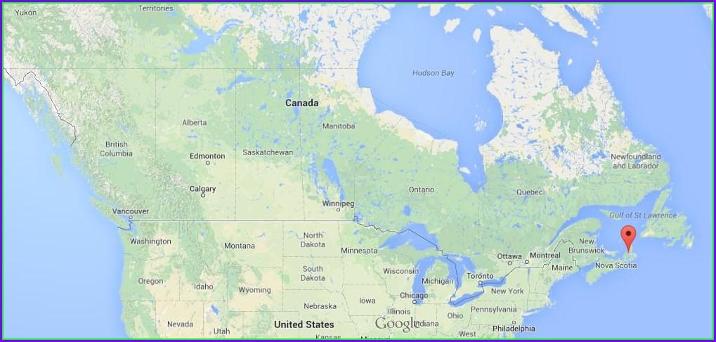 Cape Breton Island Map