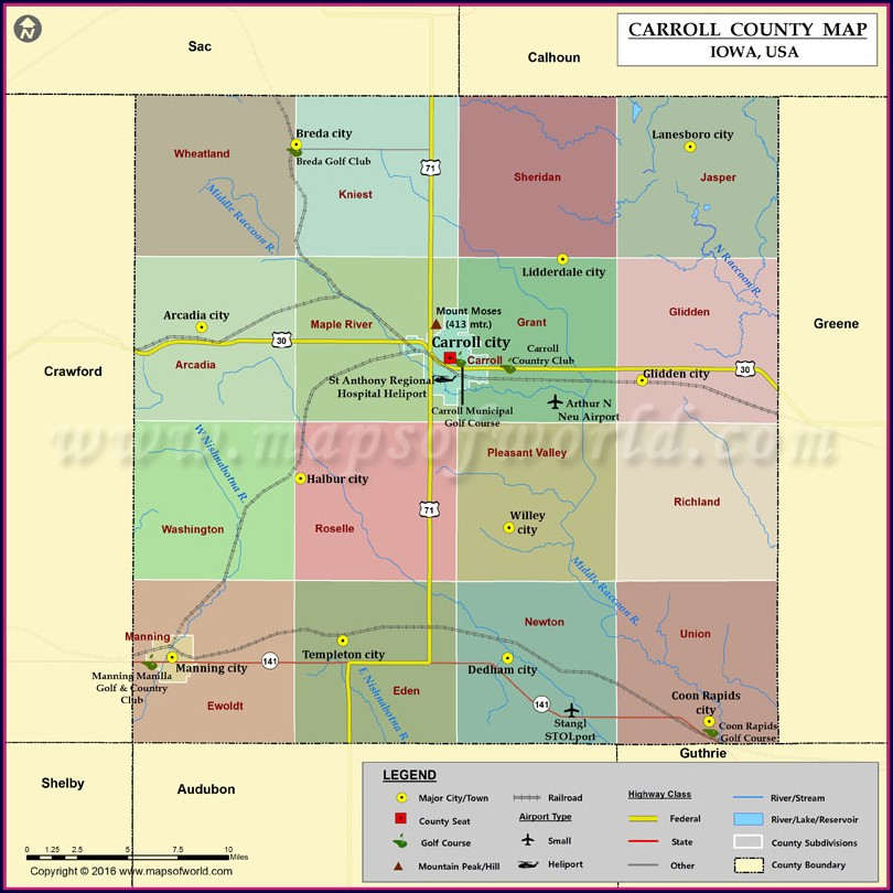 Carroll County Gis Map