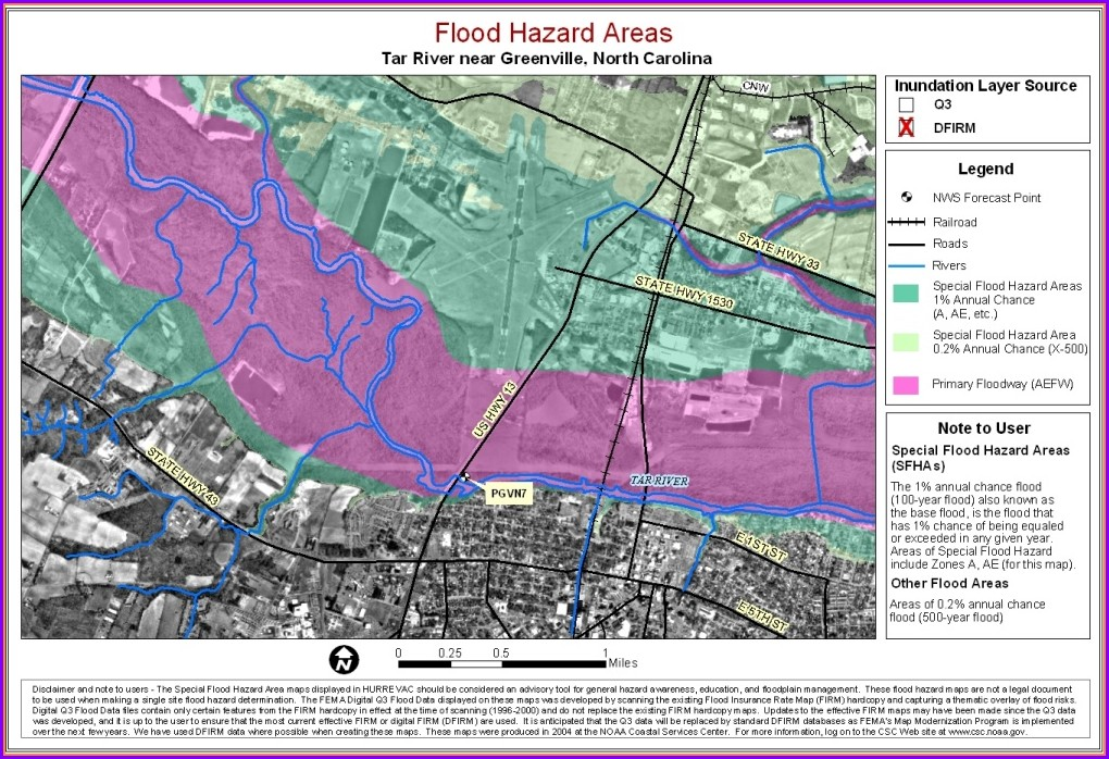 Carteret County Flood Zone Map