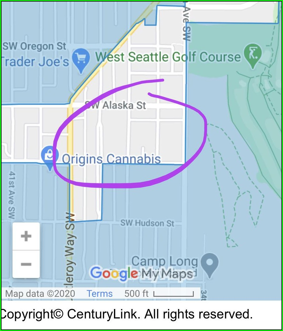 Centurylink Fiber Map Seattle