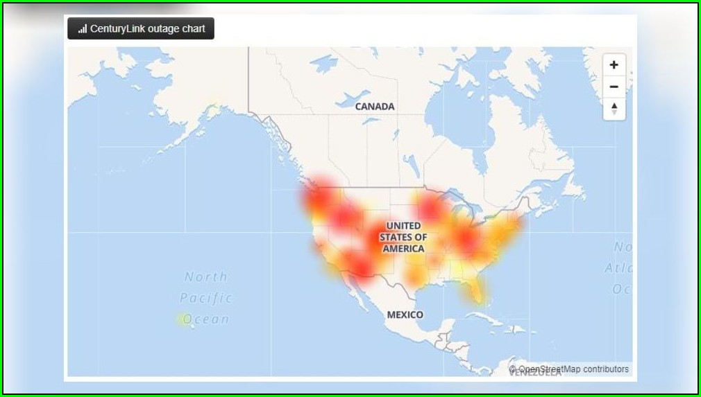 Centurylink Fiber Optic Internet Map