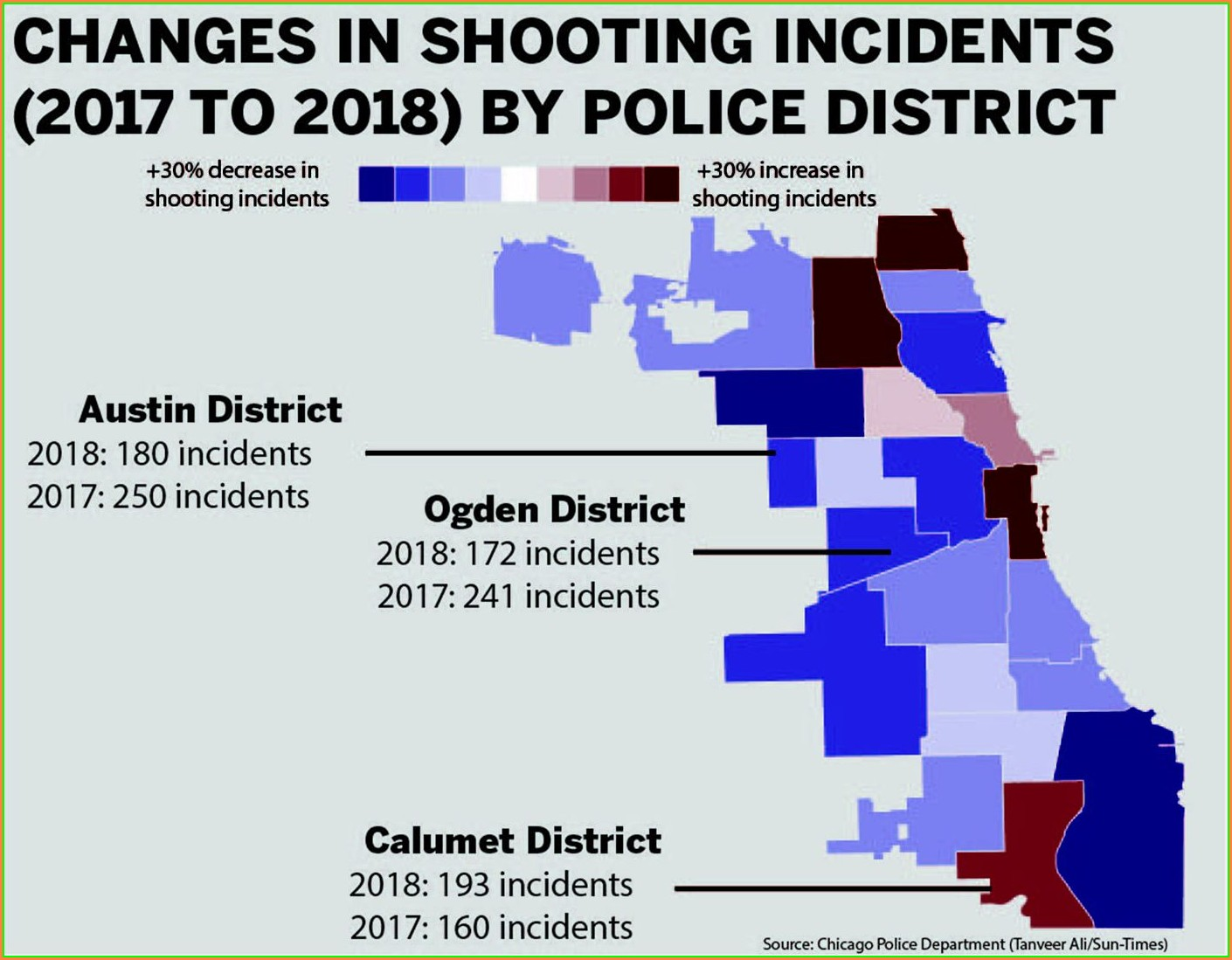 Chicago Police Districts Map 2018