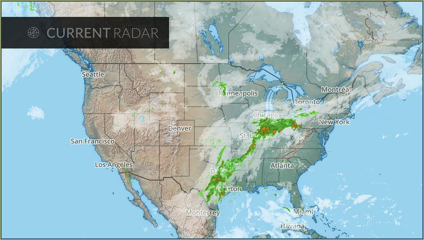Chicago Weather Radar Map
