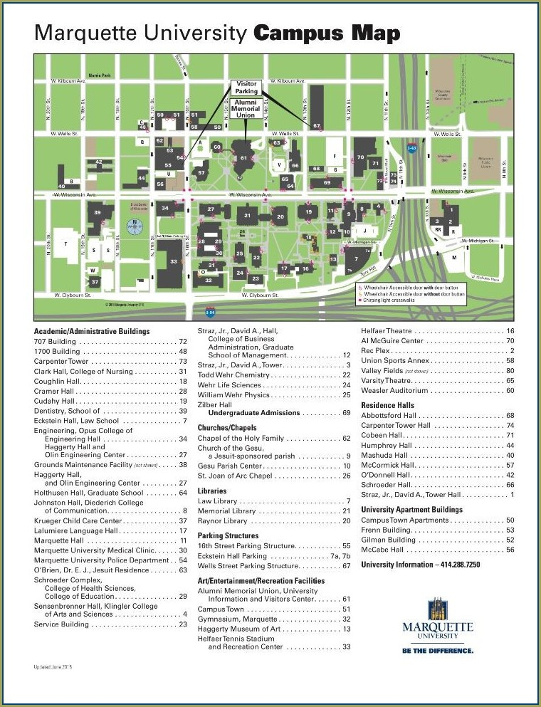 Cleveland State Campus Map