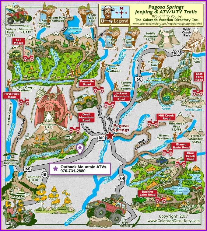 Colorado Ohv Trails Map