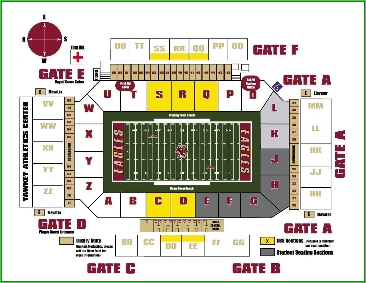 Conte Forum Seat Map